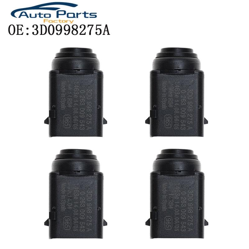 4 pçs novo sistema de sensor estacionamento para skoda vw bora eos golf jetta touareg porsche cayenne 3d0998275a 1j0919275