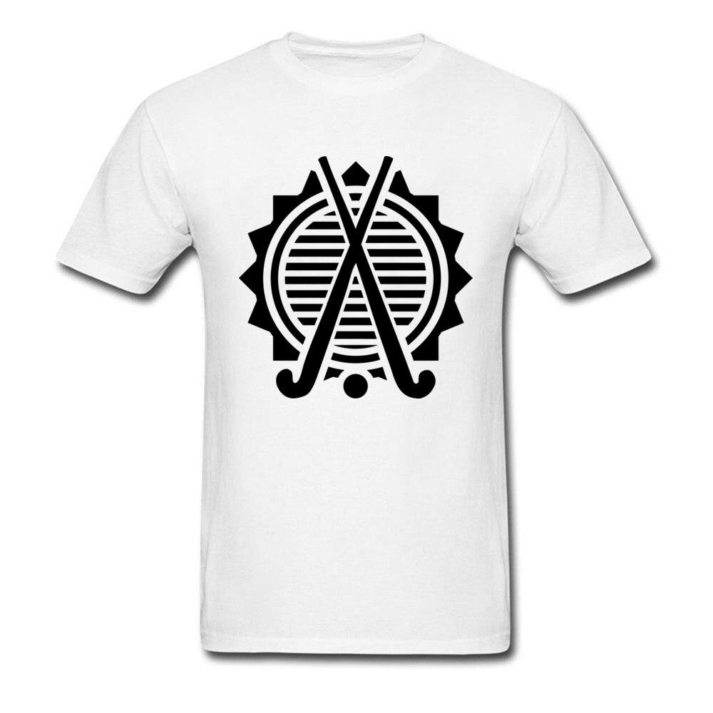 Camisas cabidas hockeyer campo branco t camisa sites comprador moda nova t-shirts dos homens logotipo design marca topos t camisa 2018 algodão