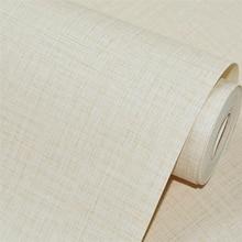WELLYU-papier peint motif en lin uni   Papier peint entièrement imperméable, pour le salon, le restaurant, la boîte, le bureau, la salle de conférence