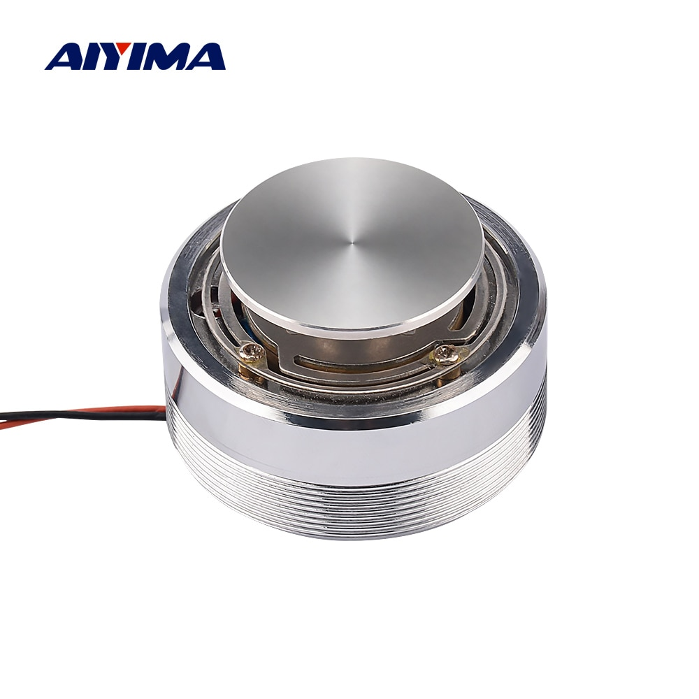 AIYIMA Audio Portable Speakers 25W/20W 4 Ohm/8 Ohm 44/50MM Full Range Vibration Speaker Altavoz Portatil Resonance Bass Speaker