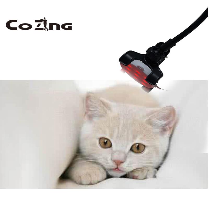 ليزر ذو مستوى منخفض جهاز علاج للكلاب/القط المحمولة المحمولة لتخفيف الآلام استخدام المنزلي الرعاية الصحية لتخفيف الآلام