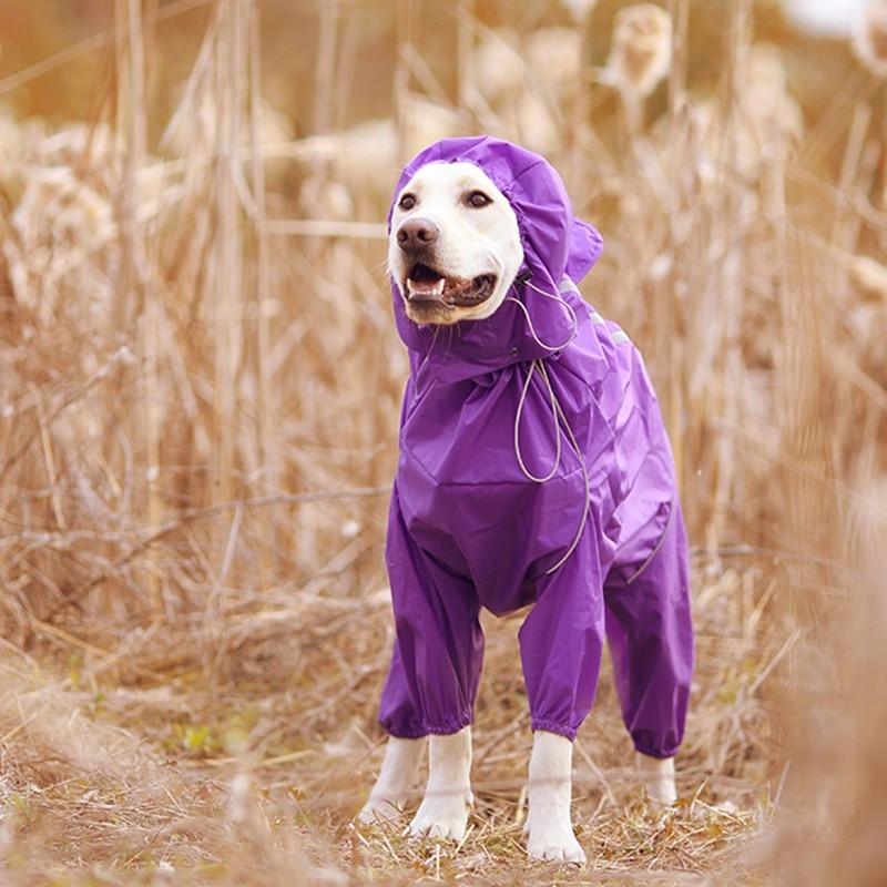 Imbracaminte impermeabilă impermeabilă pentru câini pentru animale - Produse pentru animale de companie - Fotografie 4