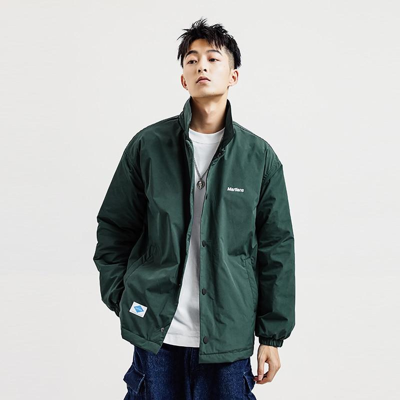 Fashion Korean Pilot Jacket Men Casual Harajuku Hip Hop Streetwear Men Jacket Streetwear Ropa Hombre Men's Clothing BY50JK