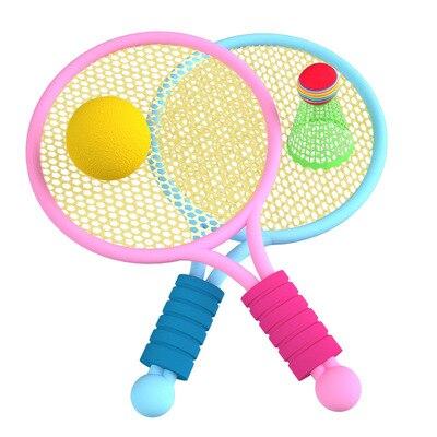 Ракетка для бадминтона для учеников 3-12 лет, детский теннис, набор ракеток для бадминтона для детского сада, интерактивные игрушки для детей ...