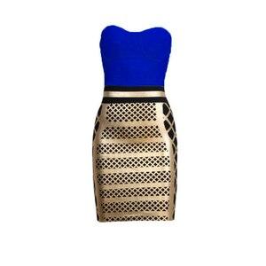 Straplesss 2019 New Midi Dreses Vestidos Bandage Dress Women Ladies Party Club Sexy Elegant Summer Autumn Dresses