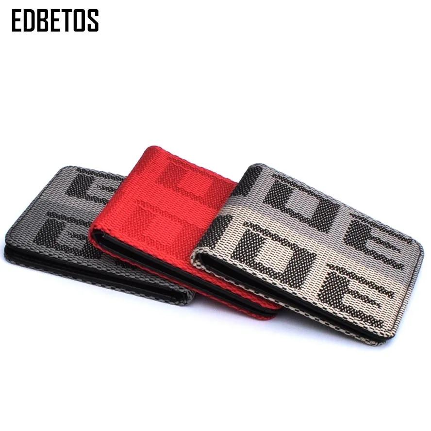 EDBETOS – portefeuille de mariée, porte-monnaie de mariée, JDM VERSION 2, siège de course en tissu et cuir, porte-clé
