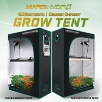 mars hydro120x60x180cm 120x50x190cm grow tent 1680d non toxic waterproof reflective for hydroponic indoor grow box room tent