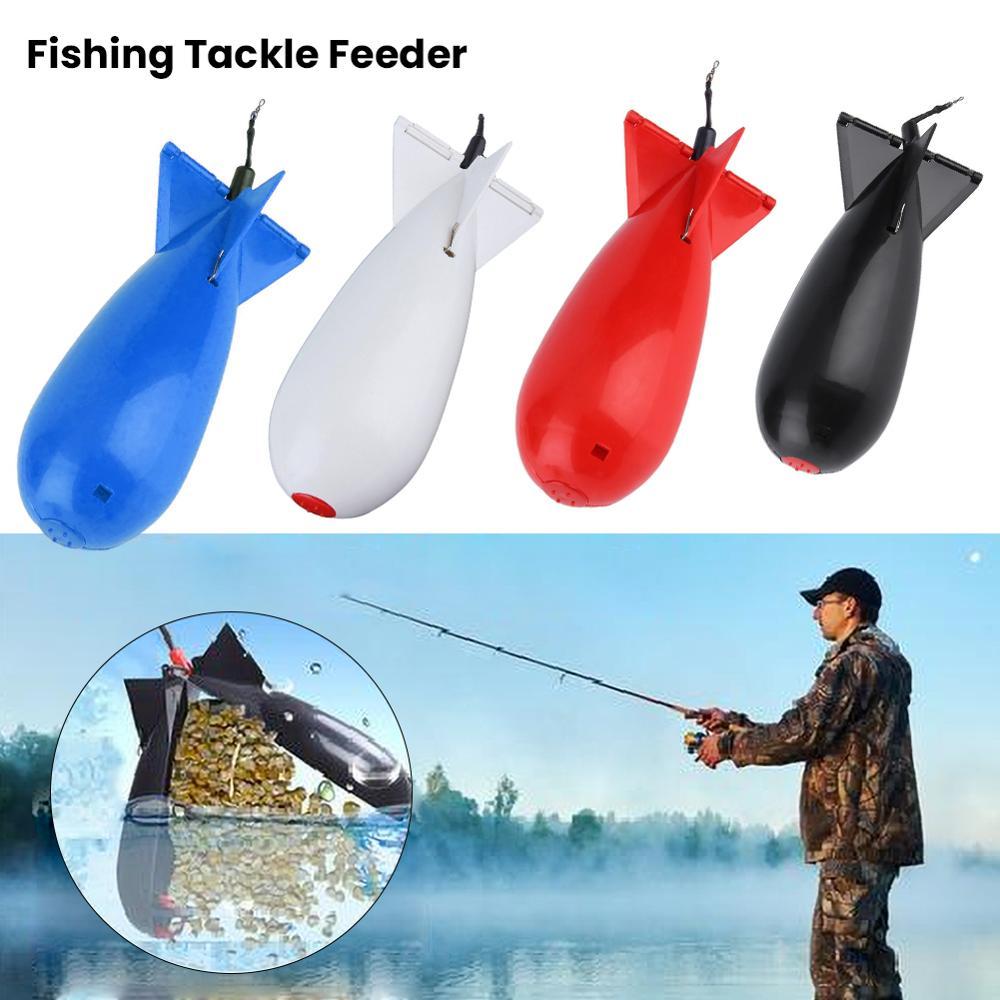 Carpa, pesca, cohete grande, bomba de Spod, aparejos de pesca, alimentador de bolitas, cohete, cebo flotante, soporte para aparejos, accesorios de herramienta