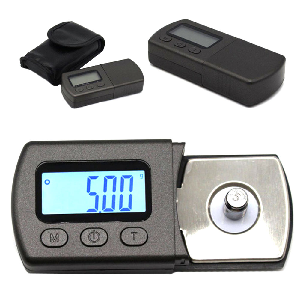Professional LP Precise Digital Turntable Stylus Force Scale Gauge 0.01g led Backlight Measurement Analysis Instruments New