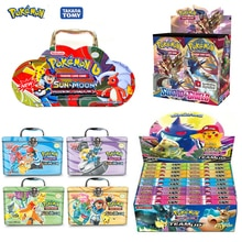 324pcs Pokemon cards All series TCG: Sun & Moon Series Evolutions Booster Box Collectible Trading Ca