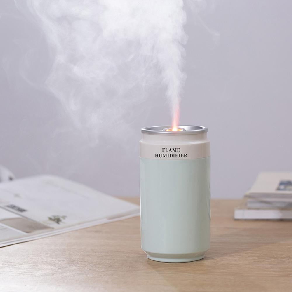 Portable Mini Ultrasonic Air Humidifier Romantic Soft Light USB Essential Oil Diffuser Car Purifier Aroma Anion Mist Night Lamp enlarge