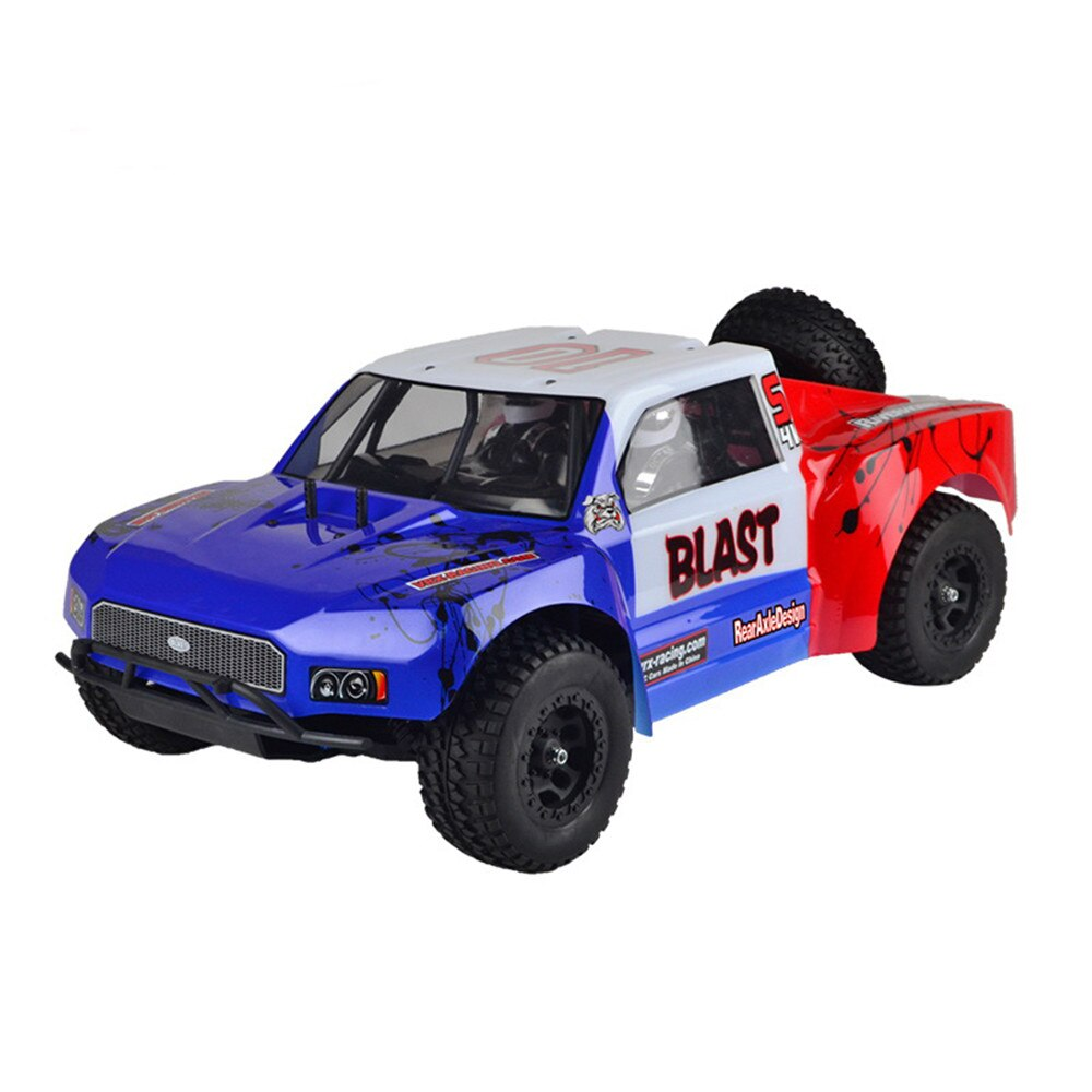 VRX RH1009 1/10 2.4G RC Car 50-65km/h High Speed Force.18 Gas Engine RTR Truck Double Speed Truck Ch
