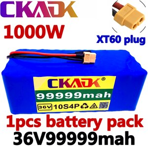 100% Оригинальный аккумулятор 10S4P 36 В, 99,999ah, аккумулятор 1000 Вт, аккумулятор 42 в, 99999 мАч для электровелосипеда, BMS, 1 заказ