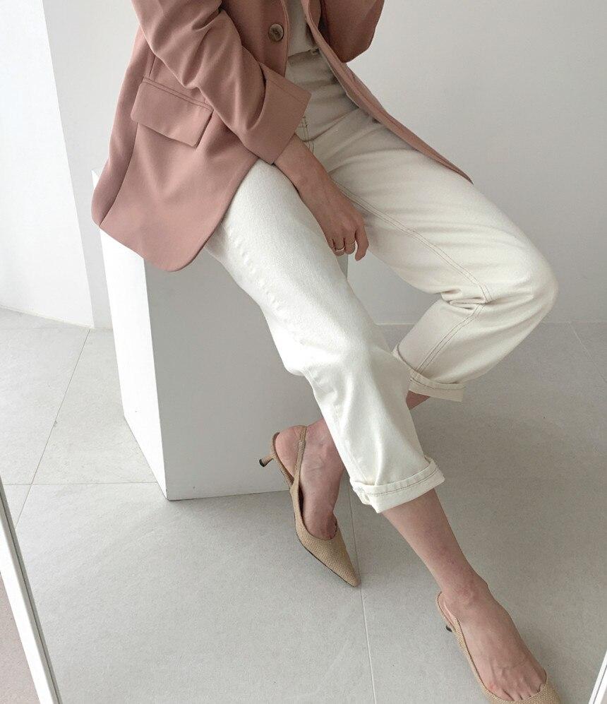 Elegant  Summer Loose Denim Pants Straight Women Jeans High Waist Female Work Wear Trousers Pantalon femme vs271