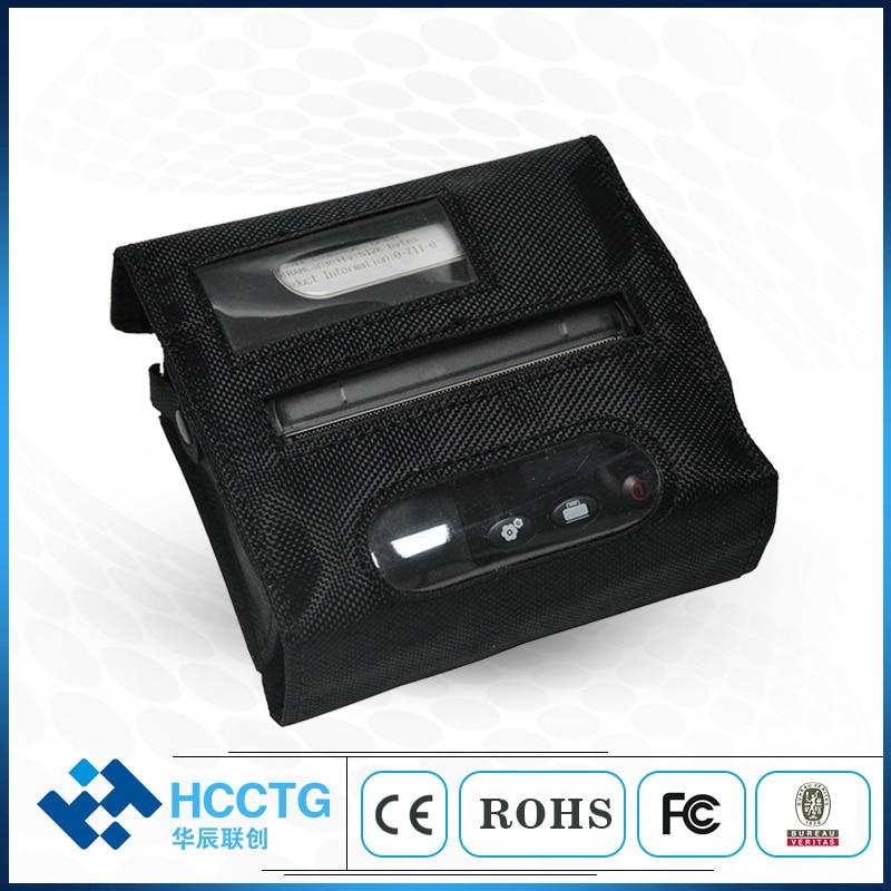 Impresora térmica de etiquetas con código de barras HCC-L31 portátil Bluetooth/USB recargable 80 mm