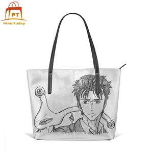 Migi Handbag Shinichi Izumi Top-handle Bags Schoolbag Teen Leather Tote Bag High quality Woman Print Wide Trendy Women Handbags