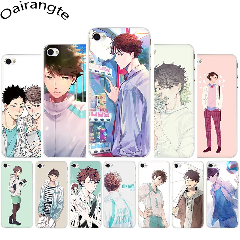 Funda rígida de teléfono Oikawa Tooru Haikyuu para iphone 5, 5s, 5C, SE, 2020, 6, 6s, 7, 8 plus, X, XR, XS, 11 Pro Max