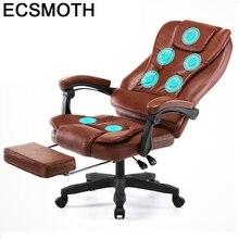 Fauteuil patron Bureau Biurowy Massage Sedia Bureau Meuble Escritorio Gamer cuir Cadeira Silla Gaming Poltrona chaise ordinateur