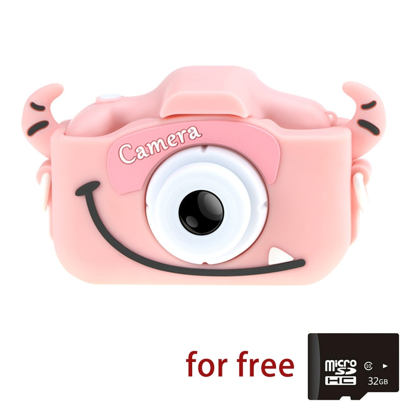Cámara Digital LCD Mini, cámara Dual de 20MP para niños, juguetes de regalo 1080P 2,0 pulgadas, cámara para niños, Mini cámara Digital
