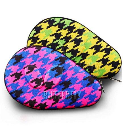 Saco de ping pong raquete capa cabaça raquete de tênis de mesa raquete capa borboleta ping pong bola raquete sacos