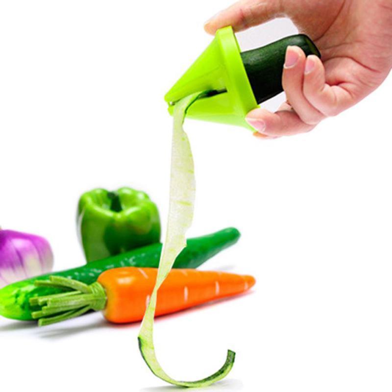 1pc triturador rotativo cenoura pepino triturador de plástico ralador rabanete funil de aço inoxidável cozinha vegetal shredding ferramenta