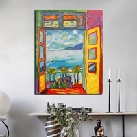 famous painter matisse landscape wall art canvas painting poster prints modern painting wall pictures for living room home decor