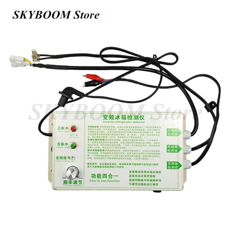 Ferramenta de Reparo Inversor Geladeira Compressor Detector Testador Pulso Válvula Solenóide Detecção