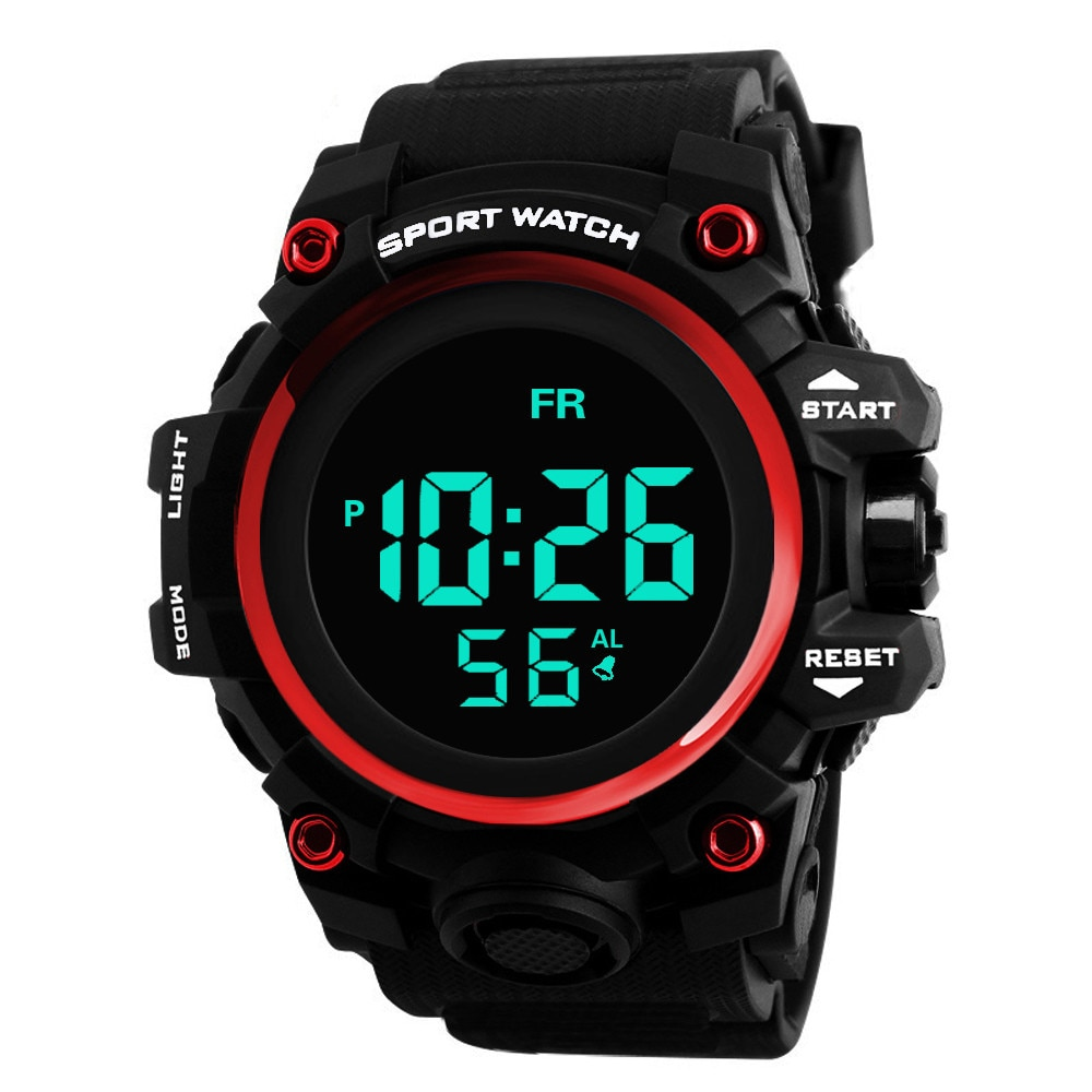 HONHX Brand Luxury Military Sports Watches Men Quartz Analog LED Digital Clock Man Waterproof Dual Display Wristwatches Relogio weide men watches sports military strap white dial movement analog clock quartz wristwatches waterproof relogio masculino reloj