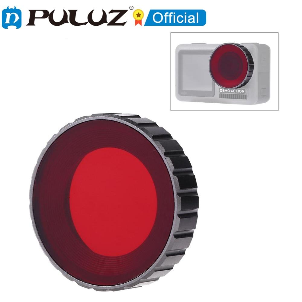 2021 nuevo PULUZ-filtro de lente de Color para DJI Osmo de decoración...