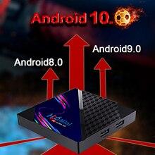 4K HD 2.4GHz Wi-Fi  Tv Box H96 MINI Android 10.0 V8 Quad Core Network Set-Top Box Support Local Medi