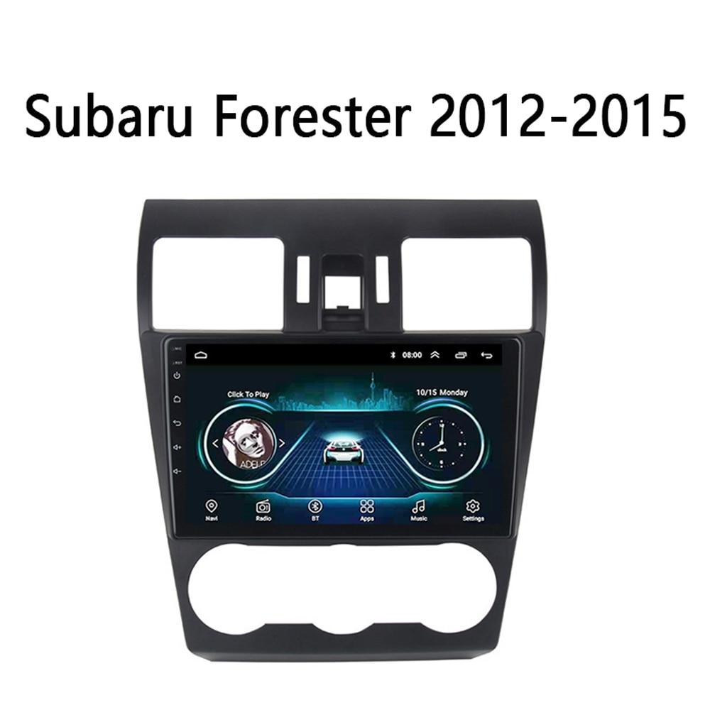 Sistema Multimedia para Subaru Forester XV WRX Radio de coche 2012-2018 GPS Navi 1din Android 8,1 soporte volante DVR vehículo FM