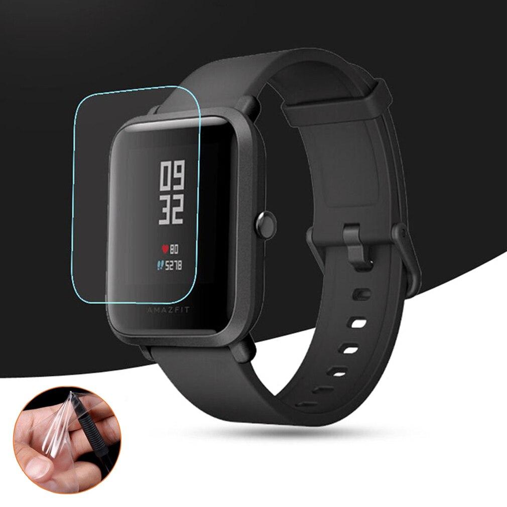 Мягкий TPU HD прозрачная защитная пленка для Xiaomi Huami Amazfit Bip BIT PACE Lite Смарт-часы полная защитная крышка для экрана