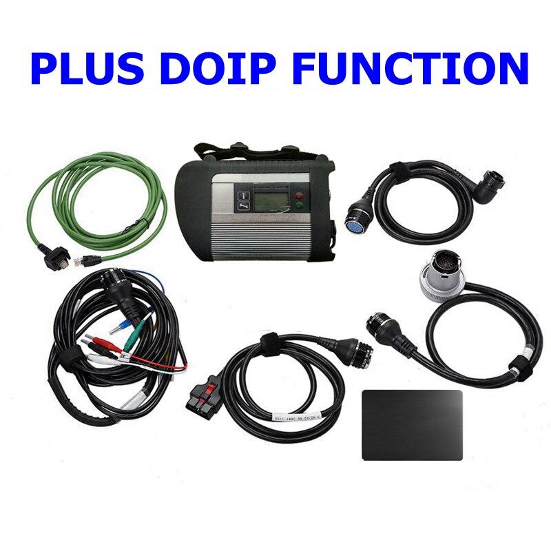 Herramienta de diagnóstico de función DOIP MB STAR C4 PLUS de la mejor calidad con función DOIP (con SSD de 2020,06 V)
