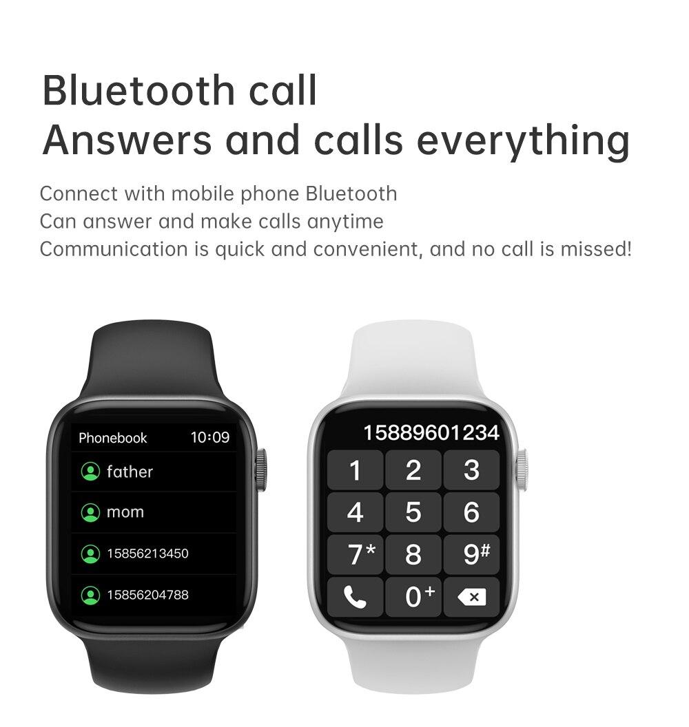 T800 Smart Watch 2021 13 Pro Smartwatch Women Men Bluetooth Call Full Touch Custom Watch Face Fitness Bracelet PK HW22 HW16 enlarge