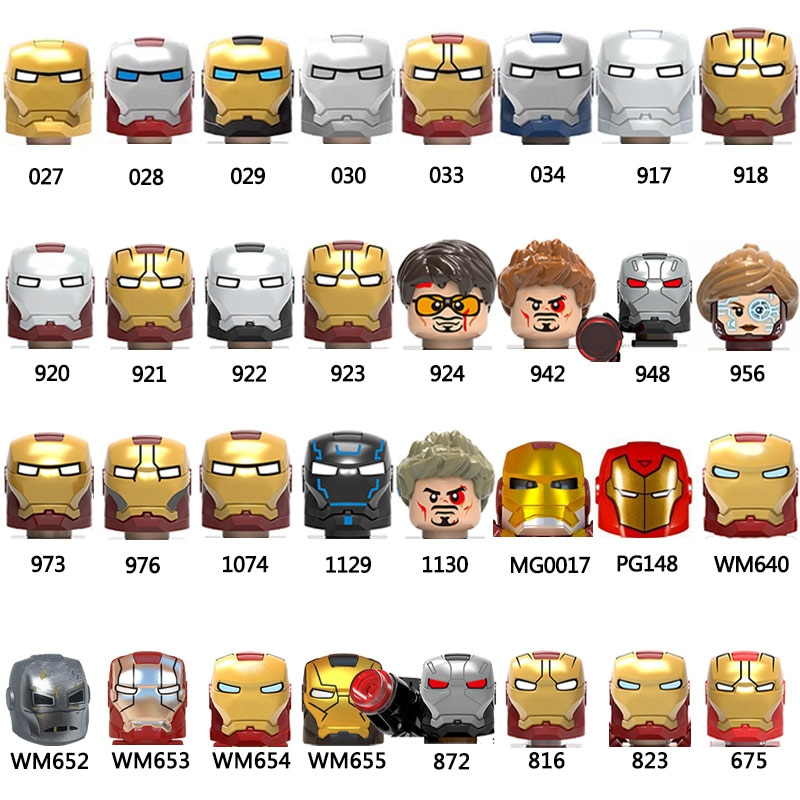 moc 38943 action figure demogorgobed bricks compatible with small building blocks assemble kid s children s toys gifts 1129 1130 924 942 948 956 WM640 WM654 976 973 Action Figure Heads MOC Building Blocks Bricks Educational Toys For Children Gifts