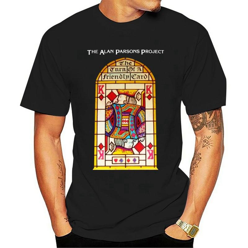 Camiseta de ALAN PARSONS PROJECT, camiseta con tu tarjeta amigable, s-5xl