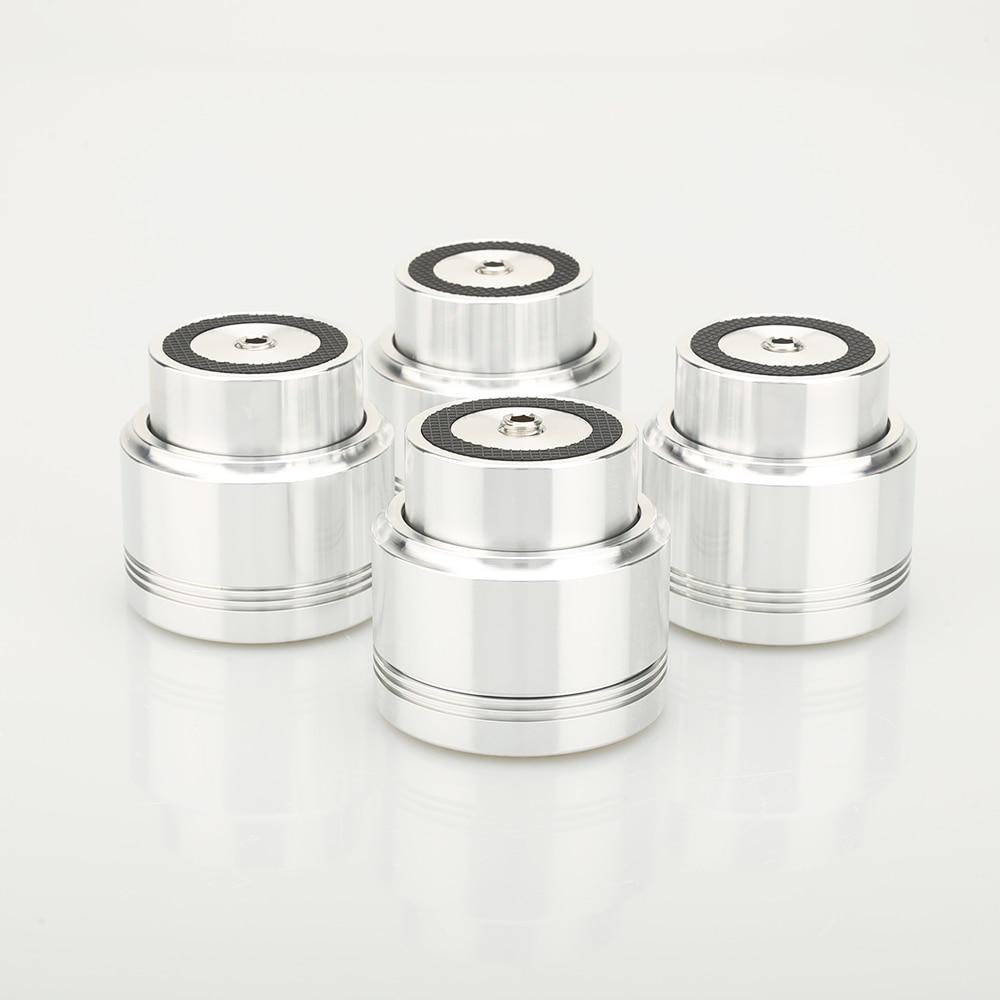 مجموعة من 4 مكبرات صوت عائمة ماجليف ، مصنوعة من سبائك الألومنيوم ، هاي فاي