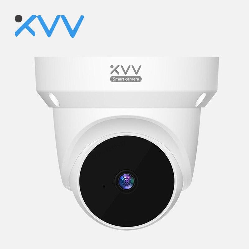 Xiaovv كاميرا متحركة ذكية منظمة العفو الدولية الروبوت الكشف عن الأمن 360 درجة دوران CCTV 1080P الأشعة تحت الحمراء للرؤية الليلية صوت الاتصال الداخلي ...