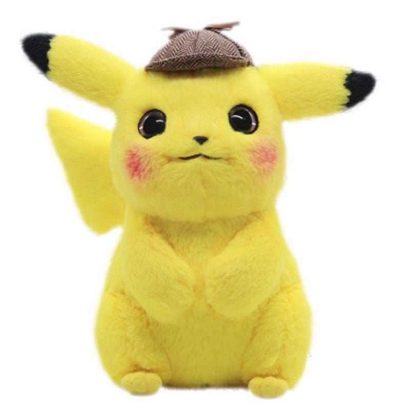 2020 TAKARA TOMY Pokemon Detective Pikachu Plush Toys Stuffed Pokémon Anime Dolls Christmas Birthday Gifts for Kids