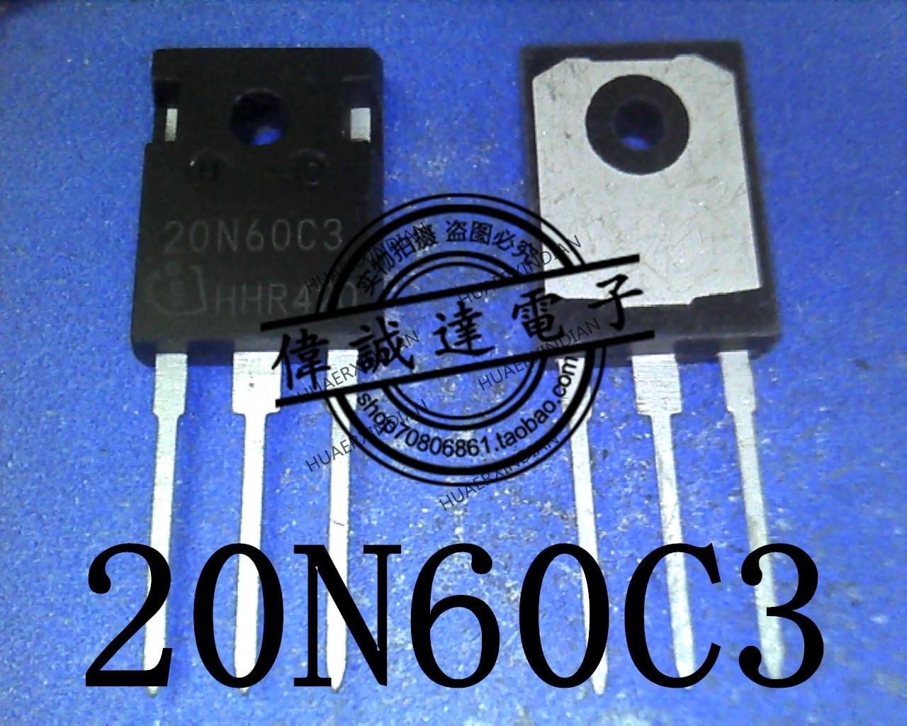 1 peças original novo spw20n60c3 20n60c3 TO-3P em estoque imagem real