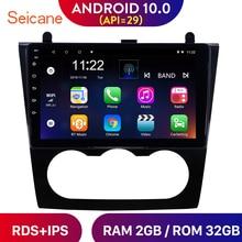 Seicane Android 10,0 RAM 2GB IPS GPS para coche Radio Estéreo reproductor para 2008-2012 Nissan Teana Nissan Altima Manual A/C/soporte DVR wifi RDS