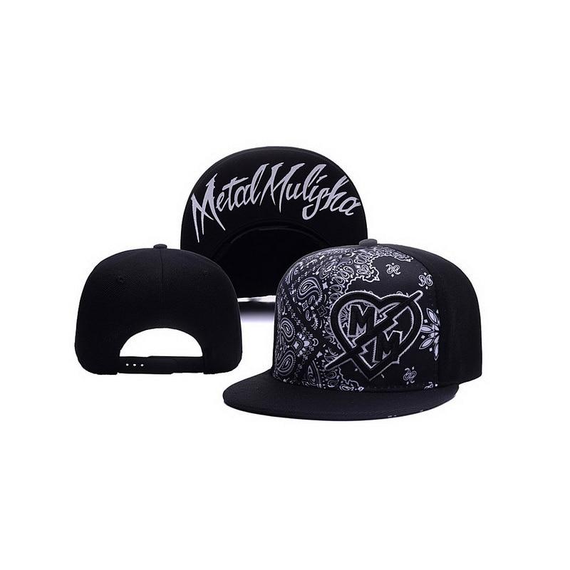 New Hip Hop Baseball Cap Fashion Women's And Men's Band Rock Baseball Flat Hat Snapback Caps Visor Hats Outdoor Sport Cap TG0217