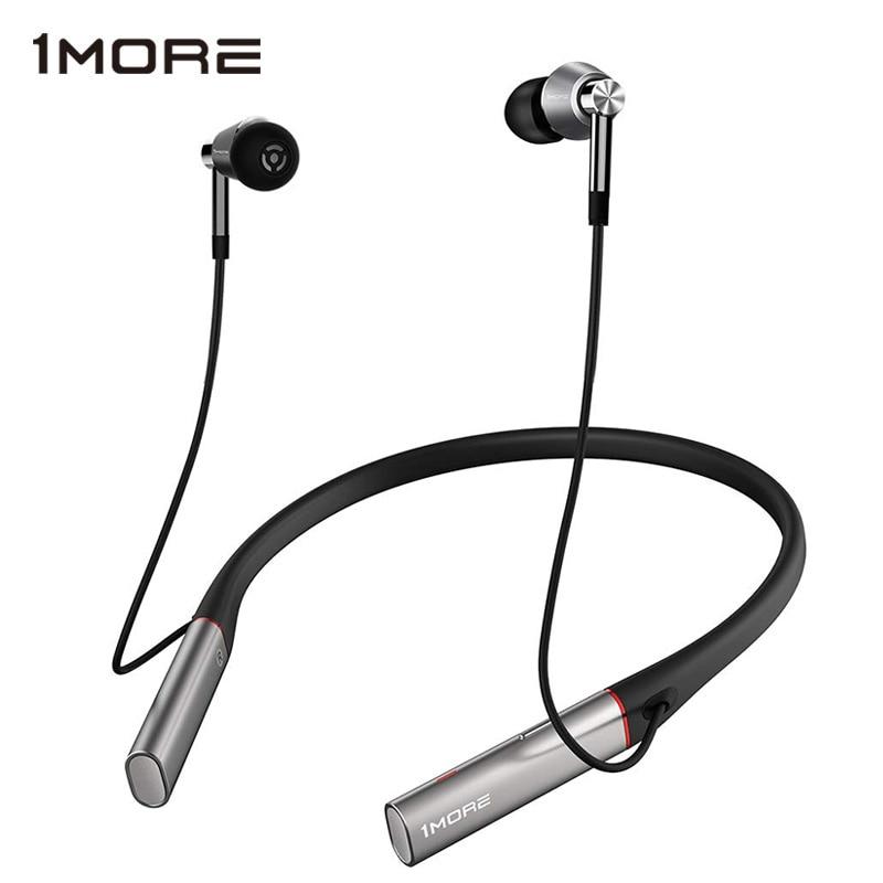 سماعات الرأس LDAC عالية الدقة اللاسلكية عزل جودة الصوت من الضوضاء البيئية الثلاثي سائق في الأذن سماعة رأس الألعاب 1MORE