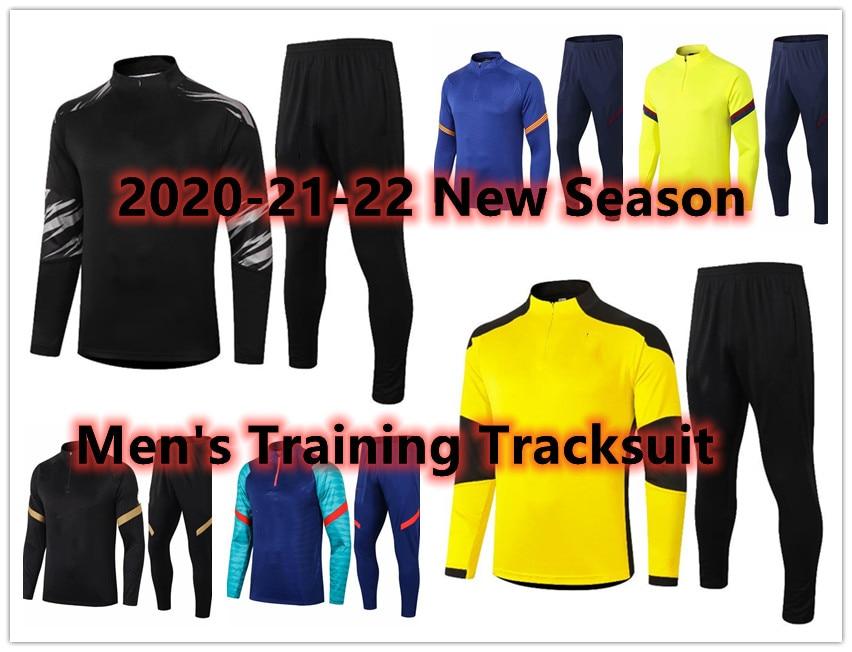 2022 survêtement دي كرة القدم 2021-22 كرة القدم رياضية تدريب الركض أطقم أوم + enfant البلوز قمصان مجموعات S-XXL