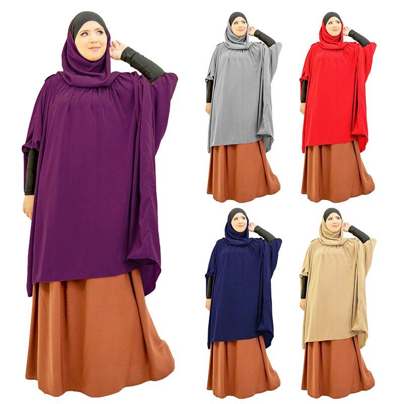 Рамадан мусульманское длинное химарское платье оаэ молитва одежды хиджаб женщины никаба бурка исламский турция намаз бурка мусулман джилбаб джеллаба