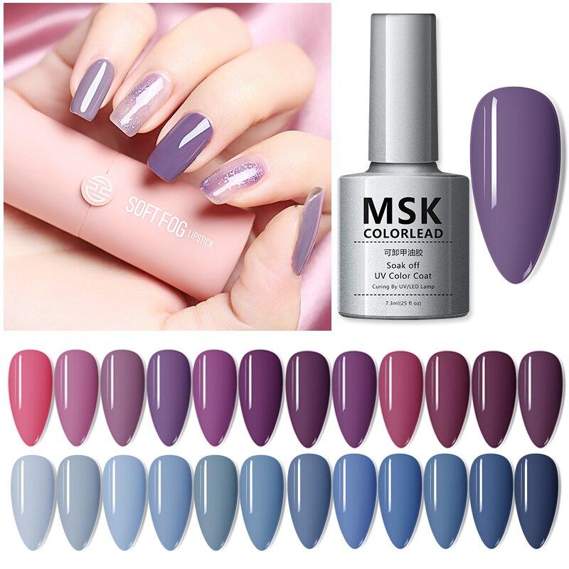 Aft Цвет привести Высокое Качество лак для ногтей на сухие ногти для лампы польский гель, используемый для гелевого яркий Цвет для УФ гель лак для ногтей искусство маникюра гель - Для красоты и здоровья