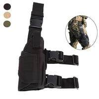 universal tactical drop leg gun holster adjustable belt pistol holster airsoft hunting right hand thigh handgun holster