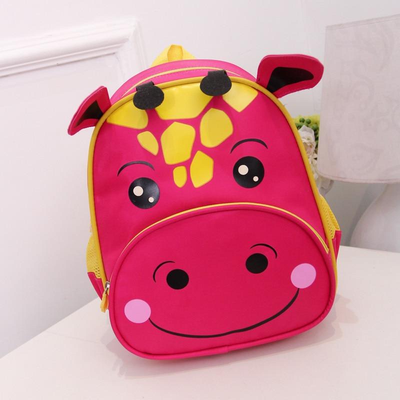 Mochila de guardería para niños y niñas, mochila con forma de vaca de dibujos animados, mochilas para la escuela, mochila bonita para niños, mochila infantil de 2 a 8 años