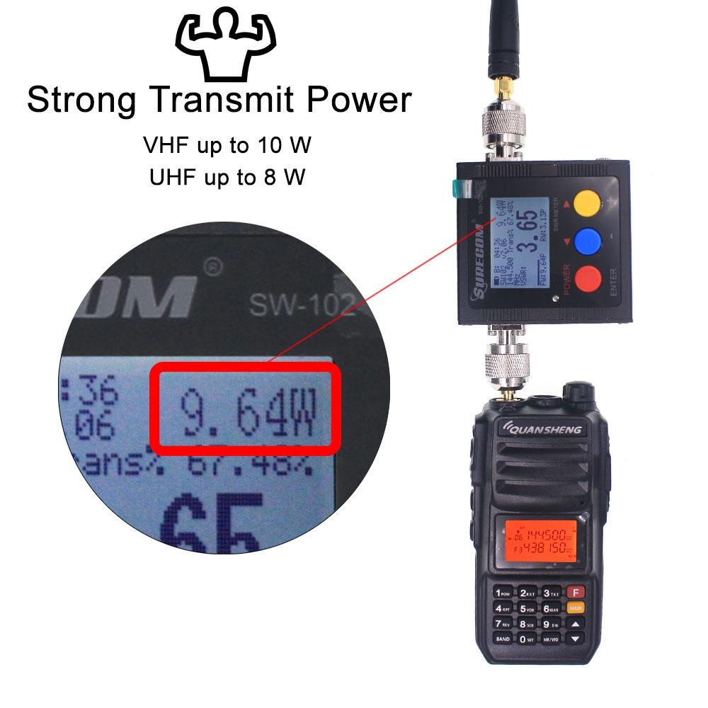 Walkie-Talkie 10KM QuanSheng TG-UV2 Plus 10W Long Range Talkie Walkie 10KM 4000mah Radio 10 KM vhf uhf Dual Band Analog UV2Plus enlarge