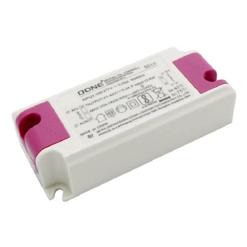 Led-treiber 50W konstantstrom-treiber beleuchtung transformator 20W 36W 42W netzteil 300mA 600mA 900mA 1200mA eingang AC100-277V
